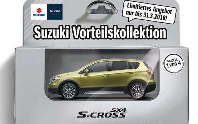Der Suzuki SX4 S-Cross ab 16.990,– EUR*