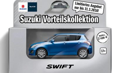 Der Suzuki Swift ab 120,- Euro* im Monat inkl. 1 Jahr Versicherung ab 17 Jahren**