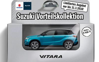 Der Suzuki Vitara ab 129,- Euro* im Monat!