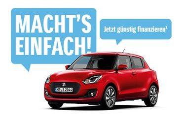 Macht´s einfach: Suzuki Swift all in – inkl. Versicherung ab 18